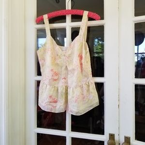 Tops - NWT - Beautiful Silk Summer Blouse - Floral